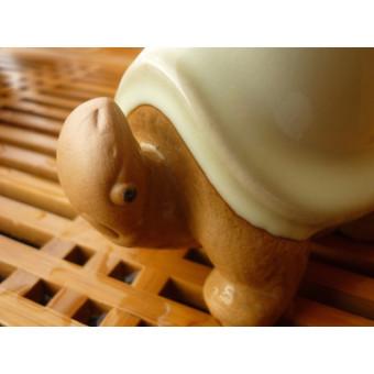 Чайная игрушка «Селадоновая черепашка»
