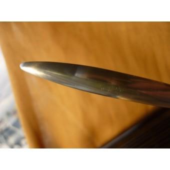 Металлический нож-меч с иероглифами
