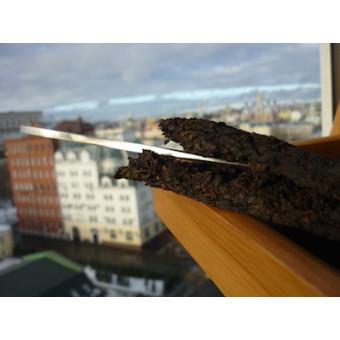 Металлический нож-меч с облачками