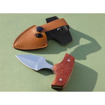 Купить Нож для пуэра с поперечной рукояткой, в кобуре