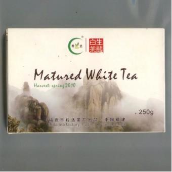 Купить Фудинский выдержанный белый чай Лида «Matured White Tea» кирпич 250гр 2010г