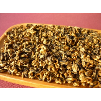 Купить Красный чай Хун Цзинь Ло «Красная Спираль»