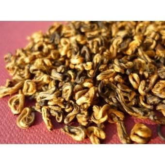 Красный чай Хун Цзинь Ло «Красная Спираль»