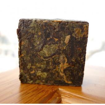 Прессованный красный мини-чай Дянь Хун «Yiqingyuan» с добавлением мяты