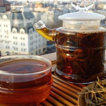 Красный чай «Золотые иглы с красным ворсом»