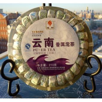 Купить Выдержанный юннаньский белый мини-пуэр «Yubang» набор 37шт