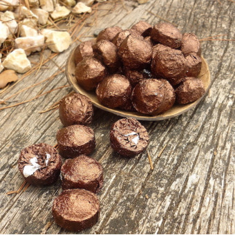 Мини шу (чёрный) пуэр с кофейным зерном
