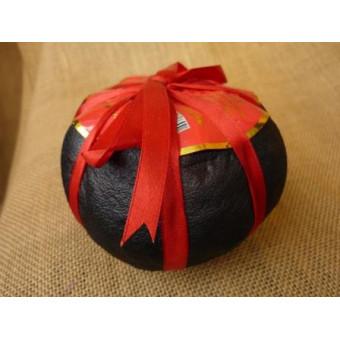 Купить Черный шу пуэр закопчёный в грейпфруте весом 265г.