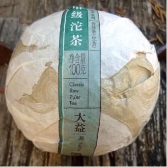 Купить Зелёный шен пуэр «Да И Цзяцзи Шэн Точа» гнездо 100г.