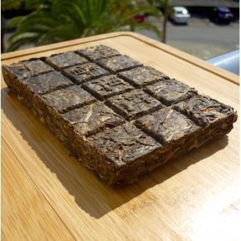 Зеленый шен пуэр в форме шоколадной плитки «Ephraim» 190гр