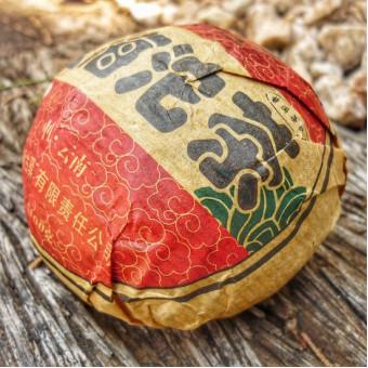 Купить  Шу пуэр ГуИ «Мэнхай» гнездо 100г.