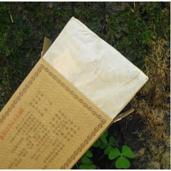 Выдержанный черный Шу пуэр Yong Zhen Lao Cha кирпич 250г.