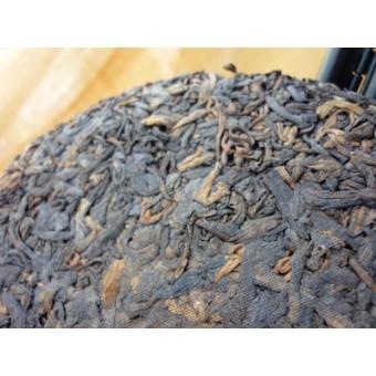 Черный шу пуэр Сань Та «Три Пагоды» мини-блинчик 200г.