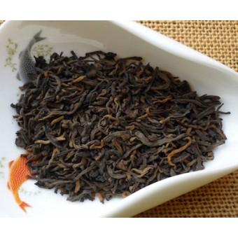 Рассыпной чёрный шу пуэр «Юннаньский» сорт премиум