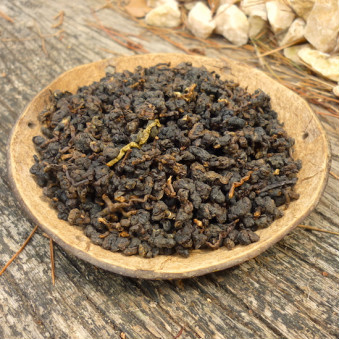 Улунский чай Габа - Алишань на дровах, Тайвань