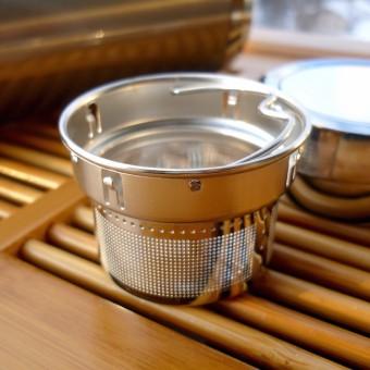 Вакуумный термос из нержавеющей стали Kamjove B01 220мл.