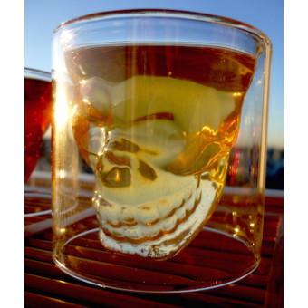 Чашка объёмная с черепом 80мл.
