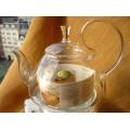 Купить Чайник Chikao с элегантной ручкой 1200мл. термостойкое стекло
