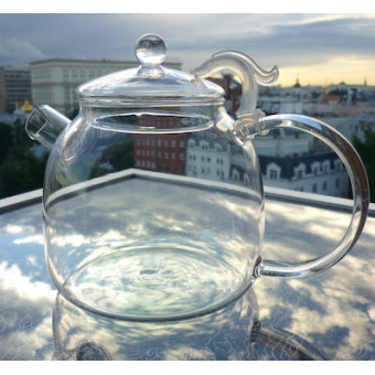 Чайник для варки «Дракон» огнеупорный 1200мл.
