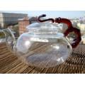 Купить Чайник «Красный бамбук» из термостойкого стекла 450мл.