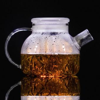 Купить Небьющийся термостойкий стеклянный чайник 1000мл.