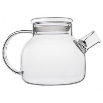 Купить Небьющийся термостойкий стеклянный чайник 500мл.