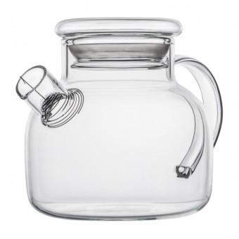 Небьющийся термостойкий стеклянный чайник 500мл.