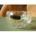 Купить Пиала стеклянная волнистая с двойными стенками 50 мл.