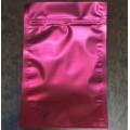 Купить Фасовочный металлизированный матовый пакет дойпак с застёжкой зиплок средний на 30-150 гр