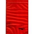 Купить Большой красивый атласный красный пакет на зиплоке 500г