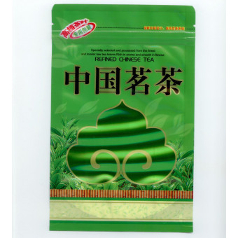 Купить Фасовочный зелёный полиэтиленовый пакетик на застёжке зиплок 50-100гр