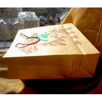 Средний крафтовый пакет в китайском стиле